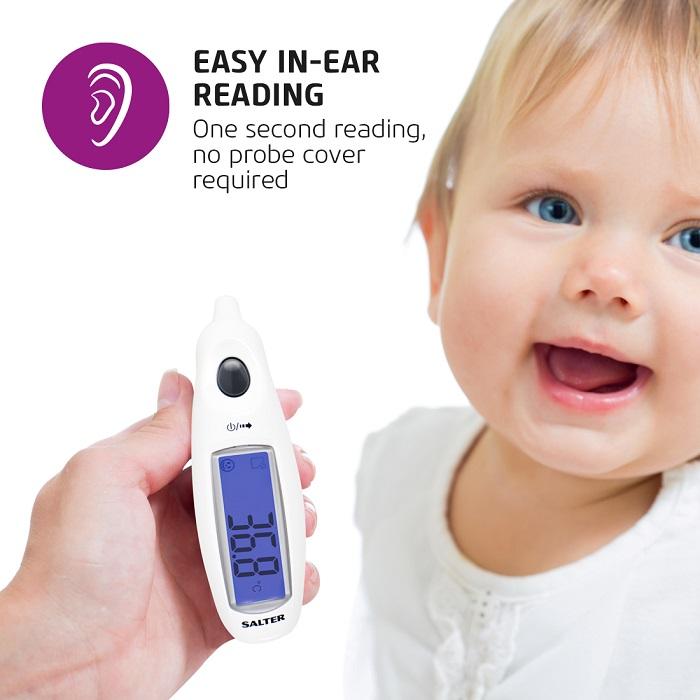 Salter Jumbo digitáis fülhőmérő TE-150
